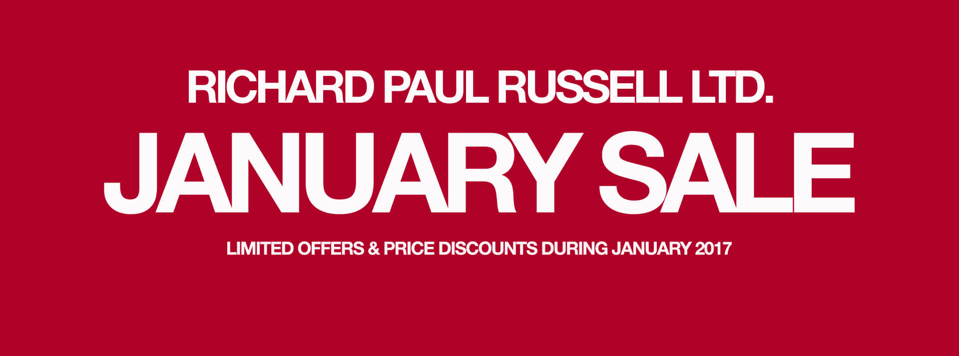 January 2017 Offers »