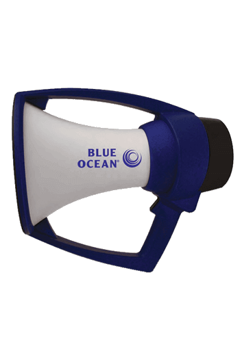 Blue Ocean Rugged Megaphone
