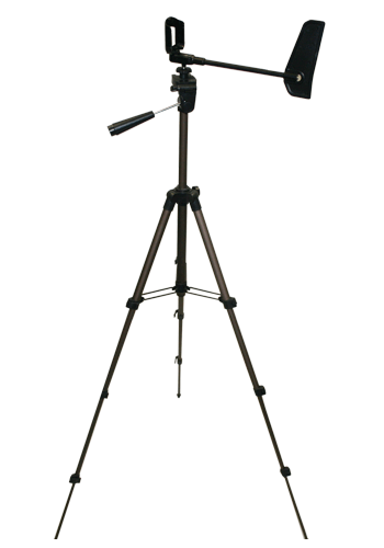Compact Collapsible Tripod with Vane and Mount
