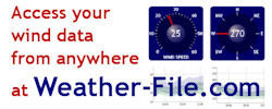 Weather-File for viewing your wind data live via the web