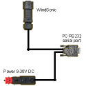 WindSonic RS232 Configuration Cable